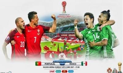 Кубок Конфедерацій: Мексика вирвала нічию у Португалії