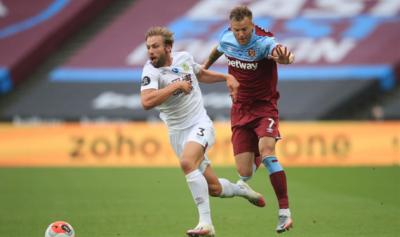 Все действия Ярмоленко в матче против «Бернли»