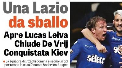 «Динамо» - «Лаціо»: огляд італійських ЗМІ