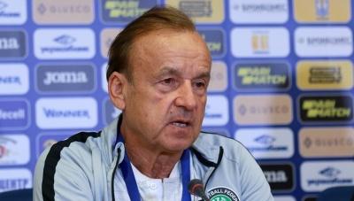 Послематчевая пресс-конференция главного тренера сборной Нигерии