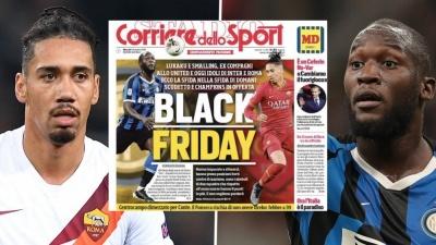 Ромелу Лукаку: «Чорна п'ятниця» - найтупіший заголовок з тих, що я бачив»