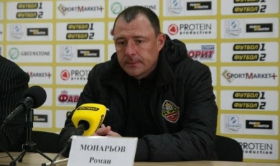 Післяматчева прес-конференція Романа Монарьова