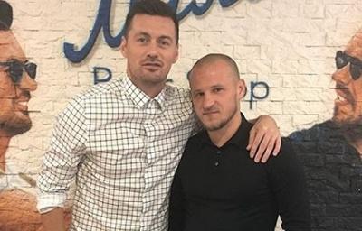 «А вот мы и вместе». Алиев и Милевский встретились в пивном магазине в Киеве