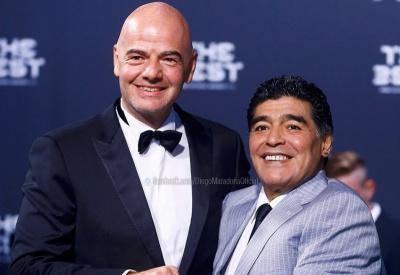 Марадона працюватиме в ФІФА