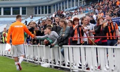 Подія футбольного дня. Відвідуваність матчу Шахтар - Олімпік