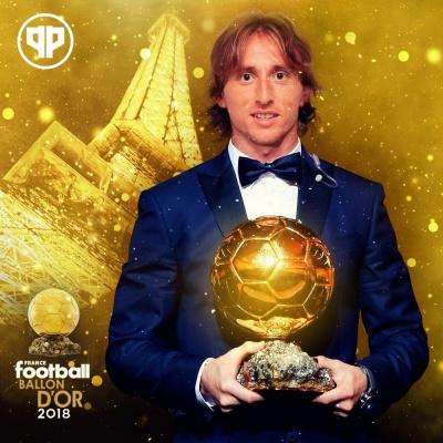 Модрич – володар «Золотого м'яча-2018»: він перервав гегемонію Мессі та Роналду