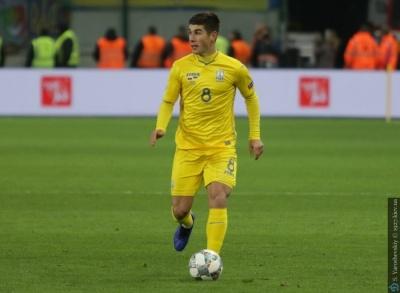 InStat: Малиновский – лучший игрок сборной Украины в отборе на Евро-2020 среди тех, кто сыграл более половины матчей