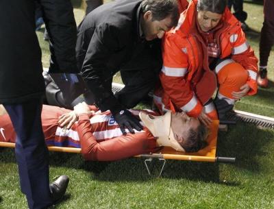 Фернандо Торрес втратив свідомість під час матчу
