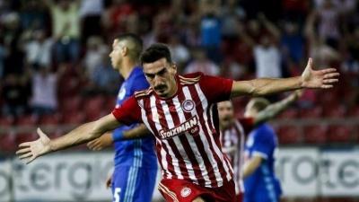 «Олимпиакос» перед матчем с «Динамо» лишился трех игроков