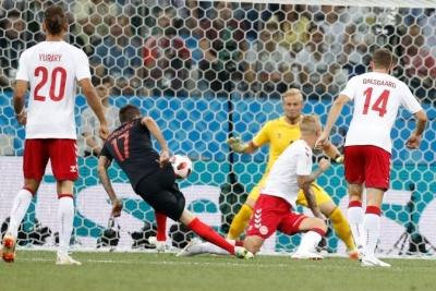 Хорватія переграє Данію в серії післяматчевих пенальті: 1:1 (3:2)