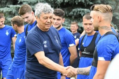 Мірча Луческу виголосив промову перед першим тренуванням з «Динамо»