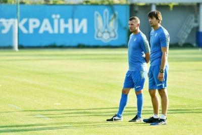 Шовковський вже розпочав роботу в збірній України