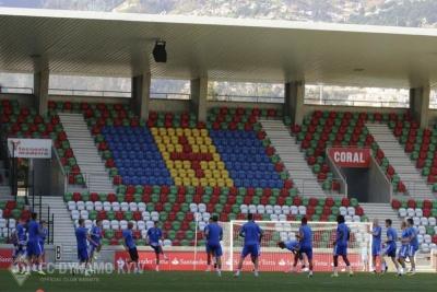 Тренування «біло-синіх» напередодні матчу з «Марітіму»