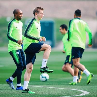 Зінченко повернувся до тренувань із «Манчестер Сіті»