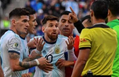 Лионель Месси: «Все организовано так, чтобы Бразилия выиграла Кубок Америки!»