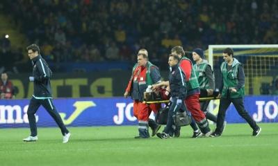 Бєсєдін зламав ніс захиснику турецької збірної