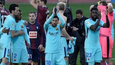 «Барселона» «розігрілася» перед матчем із «Челсі»
