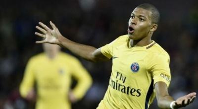 Мбаппе – найкращий молодий гравець Франції у 2017 році