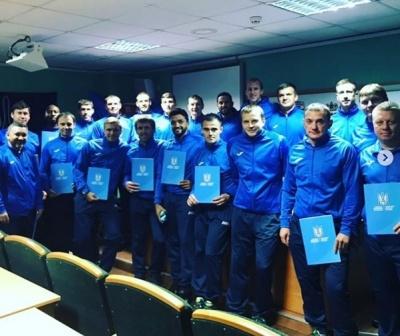 Гусєв, Девич, Едмар та інші тренери отримали диплом категорії «А»