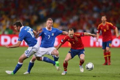 Італія – Іспанія. Прогноз Олександра Золотогорського