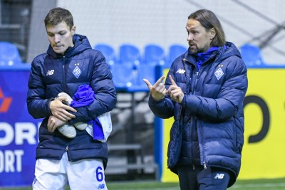 Наставник «Динамо» U-19: «Будемо спілкуватися з Михайличенком щодо гравців нашої команди, які проходять збір з основою»