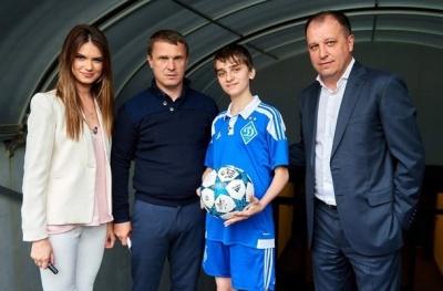 «Динамо» допомогло здійснити мрію відданого вболівальника