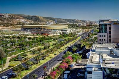 Найкращий стадіон Ізраїлю в очікуванні поєдинку «Маккабі» - «Динамо»