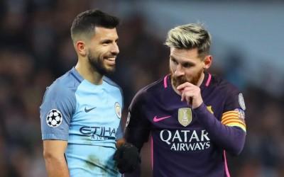 Месси советует «Барселоне» купить Агуэро