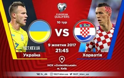 Україна - Хорватія: травми та дискваліфікації