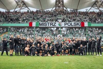 «Легія» достроково стала чемпіоном Польщі, взявши реванш у «Краковії» за розгром у Кубку