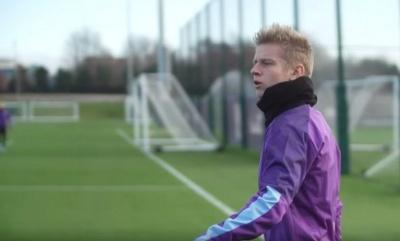 Олександр Зінченко повернувся до тренувань з основним складом «Манчестер Сіті»