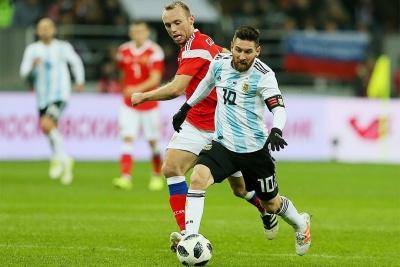 Збірна Росії програла аргентинцям: 0:1