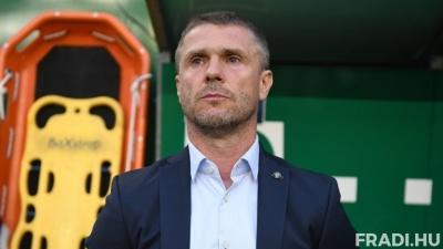 Сергій Ребров: «Ніколи ще не програвав з «Ференцварошем» з таким рахунком, і не очікував, що таке трапиться»