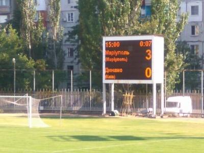 Делегат матчу «Маріуполь» - «Динамо» зафіксував неявку гостей