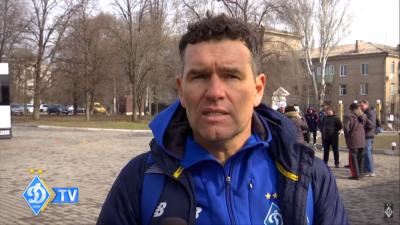 Куратор «Динамо» U-16 Гільєрмо Самсо: «Потроху поновлюємо тренування, дотримуючись усіх протоколів»
