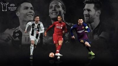 В Сеть слили результаты голосования за лучшего игрока года по версии УЕФА