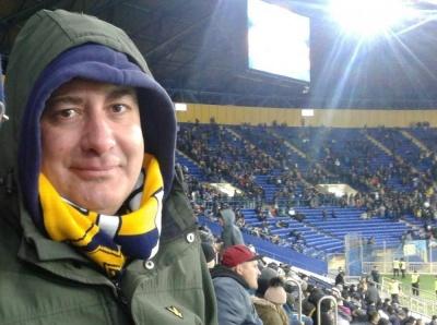 «Мені дуже подобається український футбол», – англійський фанат «Металіста 1925» розповів про любов до харківського клубу