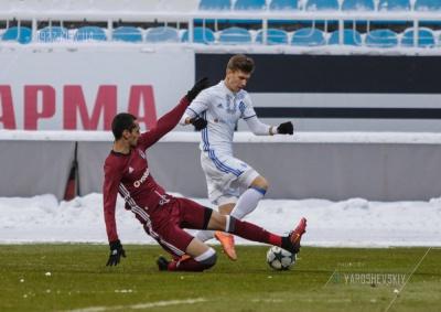 Флангова гра «Динамо» (U-19). Денис Янаков