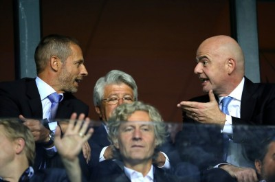 Президент УЕФА — о выходе футбола из кризиса, разногласиях с Инфантино и сокращении зарплат футболистов