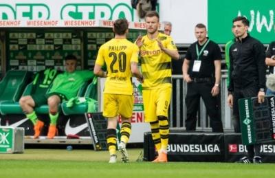 «Боруссія» Дортмунд не зуміла обіграти «Вердер», Ярмоленко вперше зіграв після травми (оцінки гравців)