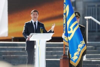 Зеленський у промові до Дня Незалежності згадав «Динамо»