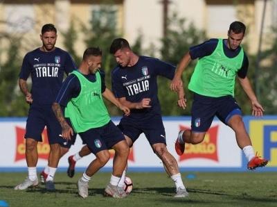 Манчини назвал состав сборной Италии на товарищеский матч против Украины