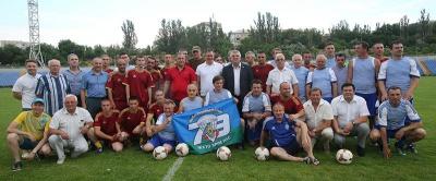 Ветерани київського «Динамо» зіграли з бійцями 79-ї окремої аеромобільної бригади