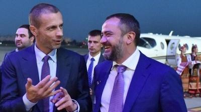 Президент УЕФА рассказал, когда Украина и Россия смогут встретиться в футбольном матче