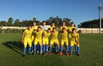 Збірна України U-16 поступилася Португалії