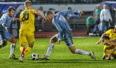 Мілевський покараний за демонстрацію телефона арбітру – форвард показував повтор епізоду під час матчу