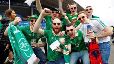 Євро-2016. Ірландські вболівальники отримали медаль