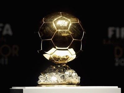 Названо 5 претендентів на нагороду «Золотий м`яч»