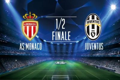 Ліга чемпіонів. «Монако» — «Ювентус»: стартові склади