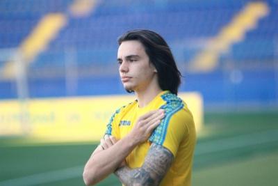 Микола Шапаренко дебютував за національну збірну України